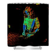 Outlaws #22 Art Cosmic Shower Curtain