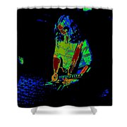 Outlaws #22 Art Psychedelic Shower Curtain