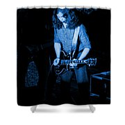 Outlaws #23 Blue Shower Curtain