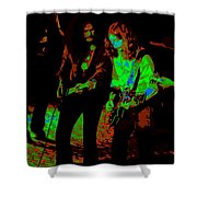 Outlaws #25 Crop 2 Cosmic Shower Curtain