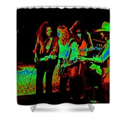 Outlaws #26 Crop 2 Art Cosmic Shower Curtain
