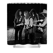 Outlaws #26 Crop 2 Shower Curtain