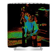 Outlaws #27 Art Psychedelic Shower Curtain