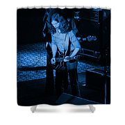 Outlaws #27 Blue Shower Curtain
