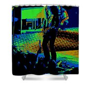 Outlaws #29 Art Cosmic Shower Curtain