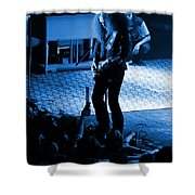 Outlaws #29 In Blue Shower Curtain