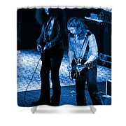 Outlaws #31 Crop 2 Blue Shower Curtain