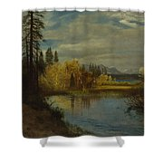Outlet At Lake Tahoe Shower Curtain