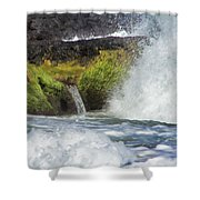 Outlet Shower Curtain