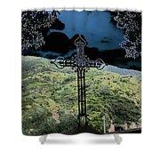 Outlook Cross Monterosso Shower Curtain