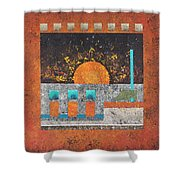 Outpost 1 Shower Curtain