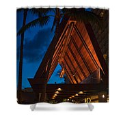 Outrigger Reef On The Beach Shower Curtain