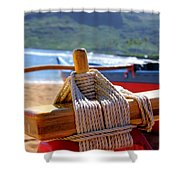 Outrigger Rigging Shower Curtain