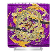 Outside The Box Shower Curtain by Tim Allen