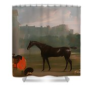 Outside The Guardhouse At Windsor Shower Curtain