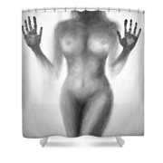 Outsider Series - Trapped Behind The Glass Shower Curtain