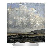 Outskirts Of Trouville Shower Curtain