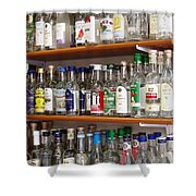 Ouzo Shower Curtain