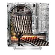 Oven Shower Curtain