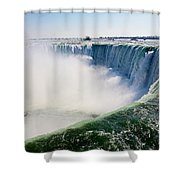 Over Falls Shower Curtain
