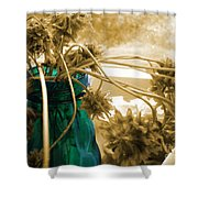 Over For The Clover Shower Curtain