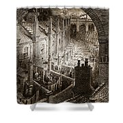 Over London Shower Curtain