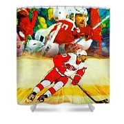 Over The Boards Shower Curtain