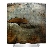 Over The Brick Wall One Shower Curtain
