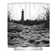 Over The Dune Shower Curtain