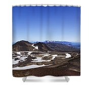 Over The Hills. Across The Fields. Shower Curtain by Evelina Kremsdorf