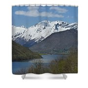 Over The Hjorundfjord Shower Curtain