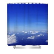 Over The Pacific Shower Curtain