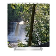 Over The Rim Shower Curtain