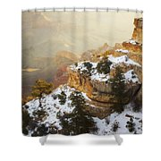 Over Time Shower Curtain