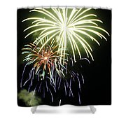 4th Of July Fireworks 5 Shower Curtain