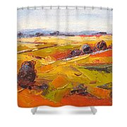Overberg Autumn Shower Curtain
