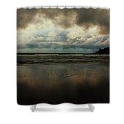 Overcast Shower Curtain