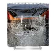 Overflow At The One Mile Shower Curtain