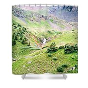 Overlooking Beauty Shower Curtain