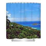 Overlooking Paradise Shower Curtain