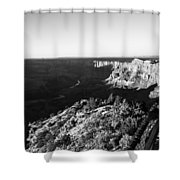 Overlooking The Canyon Shower Curtain
