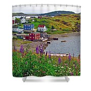 Overlooking Trinity-nl Shower Curtain