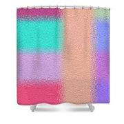 Oversprayed  Shower Curtain