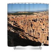 Overview At Bryce Canyon Shower Curtain
