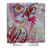 Owl In The Fresh Air Shower Curtain