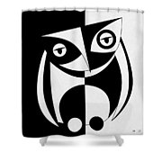 Own Abstract  Shower Curtain