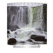 Oxarafoss Waterfall Shower Curtain