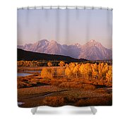 Oxbow Bend Grand Teton National Park Wy Shower Curtain