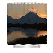 Oxbow Sunset Shower Curtain