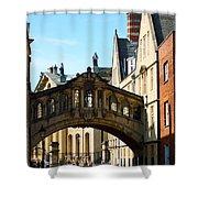 Oxford Bridge Of Sighs Shower Curtain